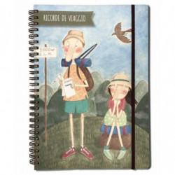 """Diario viaggio da scrivere Le Nasute """"Ricordi di viaggio"""""""