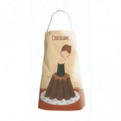 "Grembiule da cucina Le Nasute ""Cioccolami!"" (Budino)"