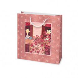 Shopper in cartone MINI Rose Le Nasute