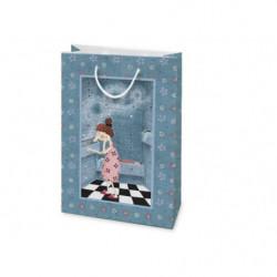 Shopper in cartone SLIM Sogni nel cassetto Le Nasute