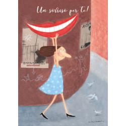 "Poster ""Un sorriso per te!""..."
