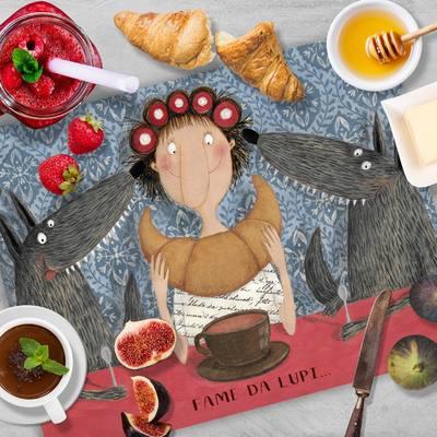 Dedicato ai nostri amici più golosi che hanno sempre una fame da lupi 🐺 Scopri le nuovissime tovagliette della colazione firmate Le Nasute 🥞 ☕️ Inizia la giornata con il sorriso! Link in bio 👍 #lenasute #seseinasutavivimeglio #colazione #breakfast #food #buongiorno #colazioneitaliana #goodmorning #instafood #colazionesana #dolci #foodblogger #instagood #caffe #caff #coffee #italia #colazionetime #cappuccino #pasticceria
